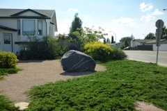 Lawnless Residential Landscape Front AFTER